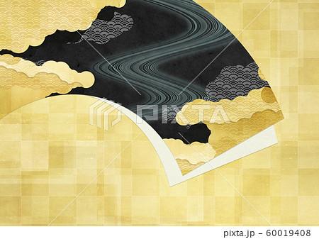 和紙の風合いを感じる日本画 60019408