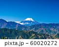 東京 高尾山 もみじ台からの富士山 60020272