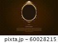 gold frame border circle picture gold thai art 60028215