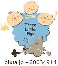 3匹のこぶたとオオカミ 60034914