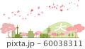 京都シルエット カラー 春 60038311