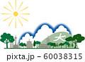 京都シルエット カラー 夏 60038315