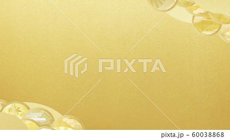 背景-和-和風-和柄-和紙-金箔 60038868