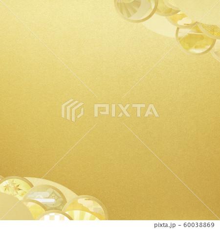 背景-和-和風-和柄-和紙-金箔 60038869