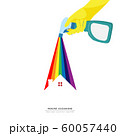 vector of hand holding cleaning spray plastic bottle detergent spraying colorful rainbow over roof of house isolated on white background. home cleaning service business banner template 60057440