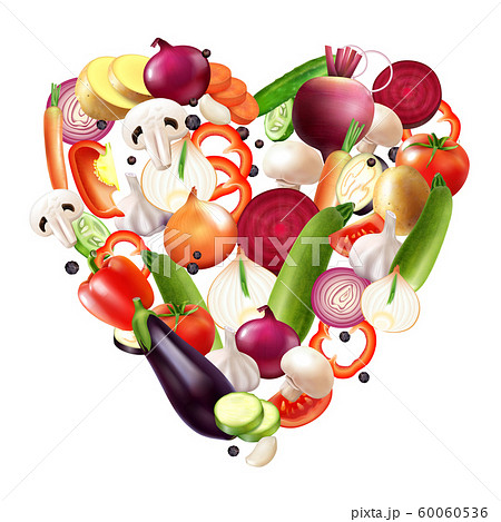 Heart Of Vegetables Composition 60060536