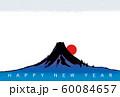 年賀状素材 富士山 全年使用素材 60084657