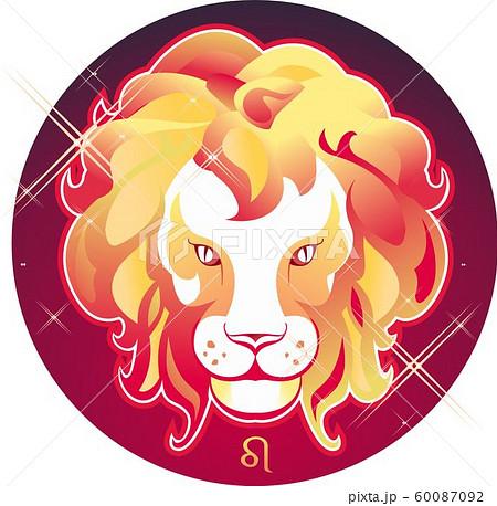 Leo zodiac sign 60087092