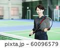 テニス テニスクラブ テニススクール フィットネス スポーツジム 女性 60096579