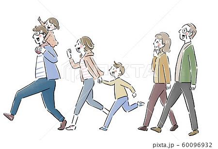 走る家族 60096932