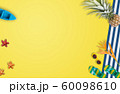 Summer vacation accessories with tropical palm 60098610