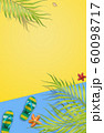 Summer holiday background, travel concept. 60098717