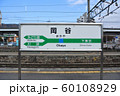 JR東日本岡谷駅ホームの駅名標 60108929