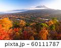 《山梨県》秋の富士山・紅葉台 60111787