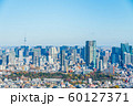 東京シティービュー 渋谷から六本木青山霊園 スカイツリー方向の眺望 60127371