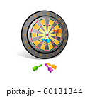 Target with darts, Target 3d icon, Vector 60131344