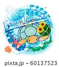 ウミガメとスイカ 60137523