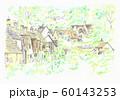 世界遺産の街並み・イギリス・コッツオルズの家 60143253