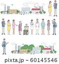 介護と病院関係の人たち セット 60145546