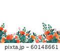 水彩の薔薇背景 60148661
