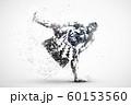 sumo wrestler abstract silhouette 1 vector ver. 60153560