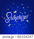 Surprise hand written lettering text 60154247