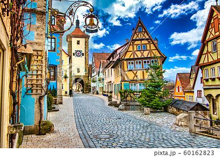 ドイツ ローテンブルクの町並み 60162823