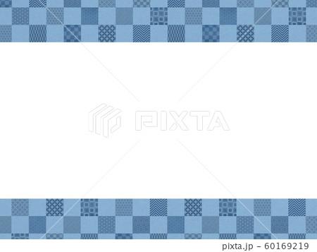 背景-和-和風-和柄-和紙-パターン-市松模様-フレーム 60169219