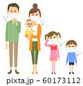 家族 風邪 インフルエンザ 60173112