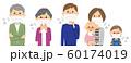 家族 風邪 インフルエンザ 60174019