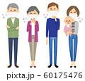 家族 風邪 インフルエンザ 60175476