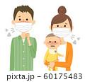 家族 風邪 インフルエンザ 60175483