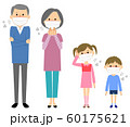 家族 風邪 インフルエンザ 60175621