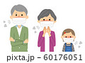 家族 風邪 インフルエンザ 60176051