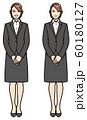 リクルートスーツの女性 60180127