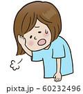 表情_ため息(女性) 60232496