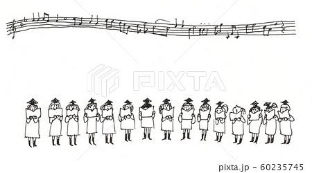 賛美歌を合唱をするシスター達 60235745