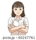 考え込む女子高校生 60247761
