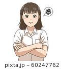 考え込む女子高校生 60247762
