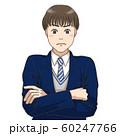 考え込む男子高校生 60247766