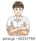 考え込む男子高校生 60247769