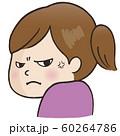 表情_睨む(女性) 60264786