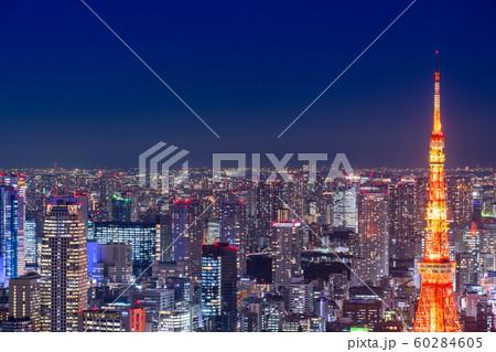 《東京都》東京夜景・都市イメージ 60284605