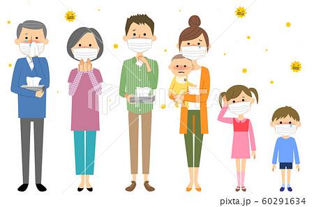 家族 花粉症 アレルギー 60291634