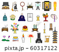 仏事のアイコンセット 60317122