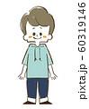 男の子-笑顔-全身 60319146