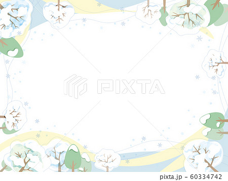 冬のフレーム 60334742