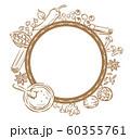 インドカレースパイスのフレーム素材。 60355761
