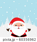 Christmas Greeting Card with Christmas Santa Claus 60356962