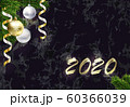 New year background with copy space. Golden 2020. 60366039